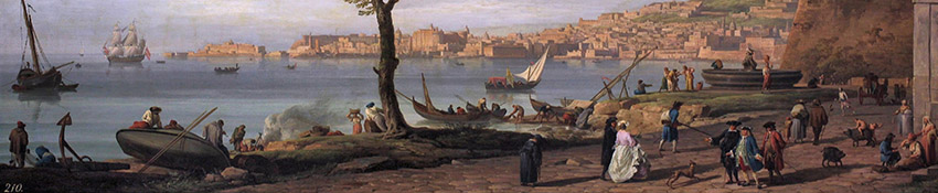 The harbor, by Vernet